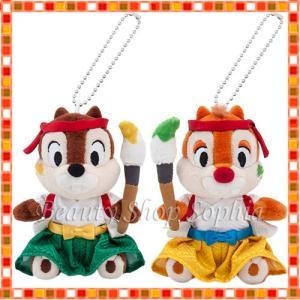 チップ&デール ぬいぐるみバッジセット 2020年 ニューイヤーグッズ お正月 子年 鼠 ディズニー グッズ お土産 (東京ディズニーリゾート限定) duffy-0080