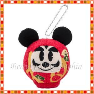 だるまミッキー ぬいぐるみバッジ 2020年 ニューイヤーグッズ お正月 子年 鼠 ディズニー グッズ お土産 (東京ディズニーリゾート限定) duffy-0080