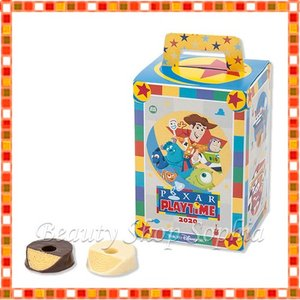 ピクサーフレンズ チョコレートカバード・バウムクーヘン ピクサープレイタイム 2020 PIXAR PLAYTIME お菓子 ディズニー グッズ お土産(東京ディズニーシー限定) duffy-0080