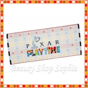ピクサーロゴデザイン フェイスタオル ピクサープレイタイム 2020 PIXAR PLAYTIME ディズニー グッズ お土産(東京ディズニーシー限定) duffy-0080