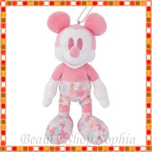 ミッキーマウス ぬいぐるみバッジ サクラシリーズ 2020 桜 ディズニー グッズ お土産(東京ディズニーリゾート限定)|duffy-0080