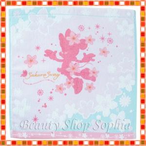 ミニーマウス ウォッシュタオル サクラシリーズ 2020 桜 ディズニー グッズ お土産(東京ディズニーリゾート限定)|duffy-0080