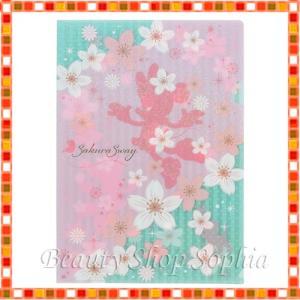 ミニーマウス&フィガロ クリアホルダー サクラシリーズ 2020 桜 ディズニー グッズ お土産(東京ディズニーリゾート限定)|duffy-0080