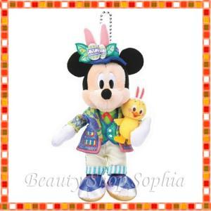 ミッキーマウス ぬいぐるみバッジ tip-topイースター! 2020 ディズニーイースター ディズニー グッズ お土産(東京ディズニーシー限定) duffy-0080