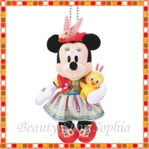 ミニーマウス ぬいぐるみバッジ tip-topイースター! 2020 ディズニーイースター ディズニー グッズ お土産(東京ディズニーシー限定) duffy-0080