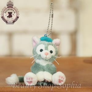 ジェラトーニ ぬいぐるみストラップ ダッフィーの新しいお友達 猫(ディズニーシー限定)Duffy ダッフィー シェリーメイ duffy-0080