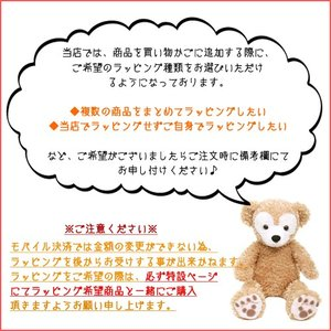 くまのプーさん ふわモコ ぬいぐるみ (小) プレゼント ギフト (東京ディズニーランド限定) duffy-0080 05
