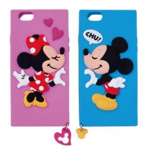 ミッキーマウス ミニーマウス iPhoneケースセット iPhone6 iPhone6s対応 スマートフォンケース ペアiPhoneケース (ディズニーリゾート限定)|duffy-0080