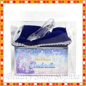 シンデレラ 缶入りセイロンティー プリンセス ガラスの靴 お菓子 お土産 (ディズニーリゾート限定)|duffy-0080