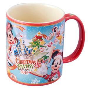 ディズニークリスマス2015 ミッキー&フレンズ マグ クリスマス・ファンタジー(東京ディズニーランド限定)2015年 X'mas|duffy-0080