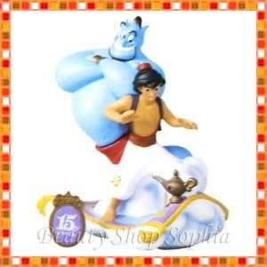 ディズニーシー15周年 アラジン&ジーニー フィギュアリン ザ・イヤー・オブ・ウィッシュ Wishシリーズ TDS15th  東京ディズニーシー限定|duffy-0080