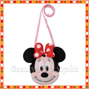 ミニーマウス ぬいぐるみコインケース パスケース Disney(ディズニーリゾート限定)|duffy-0080