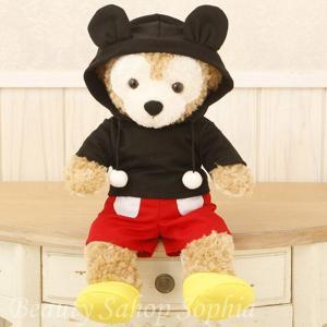 ダッフィー コスチュームセット ミッキーマウス 単品 オリジナル ハンドメイド 手作り 洋服 着せ替え|duffy-0080