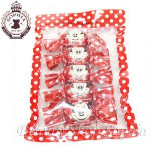 ミニーマウス チョコインクッキー お菓子 5個セット お土産 (東京ディズニーリゾート限定)|duffy-0080