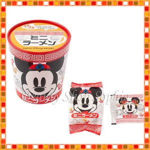 ミッキーマウス ミニーマウス ミニラーメン インスタント麺 お菓子 お土産   (東京ディズニーリゾート限定) duffy-0080