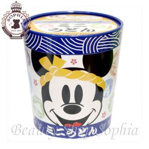 ミッキーマウス ミニーマウス ミニうどん インスタント麺 お菓子 お土産   (東京ディズニーリゾート限定)|duffy-0080