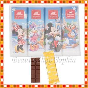ミッキー&フレンズ 板チョコレート お菓子 お土産 チョコ ...