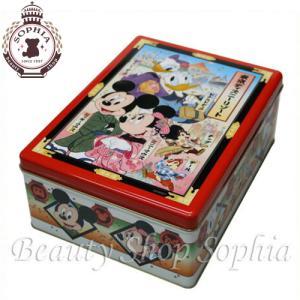 ミッキー&フレンズ 缶入り おせんべい お煎餅 お土産(東京ディズニーリゾート限定)|duffy-0080