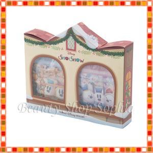 スノーミッキー  入浴剤  スノースノー ディズニー クリスマス 2018  箱入り ディズニー お土産  (東京ディズニーリゾート限定)|duffy-0080