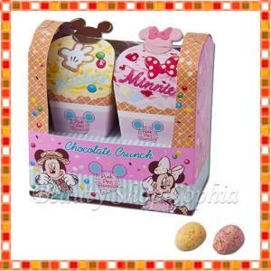 ミッキー&ミニー チョコレートクランチ Pink Pop Paradise お菓子 ディズニー グッズ お土産(東京ディズニーリゾート限定)|duffy-0080