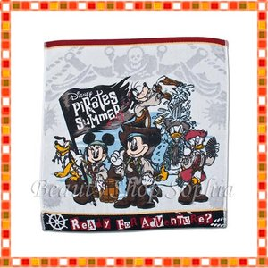 ミッキー&フレンズ ウォッシュタオル パイレーツ・サマー 2019 海賊 ディズニー グッズ お土産(東京ディズニーシー限定)|duffy-0080