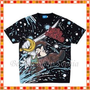 ミッキー&フレンズ Tシャツ(100、120cm) パイレーツ・サマー 2019 海賊 ディズニー グッズ お土産(東京ディズニーシー限定)|duffy-0080