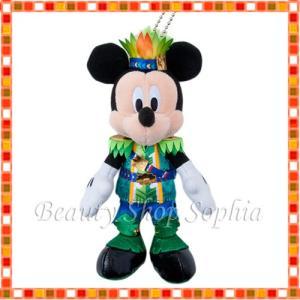 ミッキーマウス ぬいぐるみバッジ ホット・ジャングル・サマー 2019 ディズニー グッズ お土産(東京ディズニーランド限定)|duffy-0080
