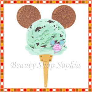 ミッキーマウス うちわ(アイス) Pink Pop Paradise ディズニー グッズ お土産(東京ディズニーリゾート限定)|duffy-0080