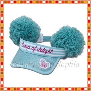 ミッキーマウス サンバイザー Pink Pop Paradise ディズニー グッズ お土産(東京ディズニーリゾート限定)|duffy-0080