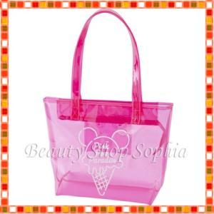 ミッキーマウス トートバッグ Pink Pop Paradise ディズニー グッズ お土産(東京ディズニーリゾート限定)|duffy-0080