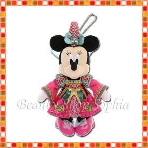 ミニーマウス ぬいぐるみバッジ フェスティバル・オブ・ミスティーク ディズニー・ハロウィーン 2019 ディズニー グッズ お土産(東京ディズニーシー限定) duffy-0080