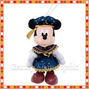 ミッキーマウス ぬいぐるみバッジ 18周年 アニバーサリー フォートレス・エクスプロレーション ディズニー グッズ お土産(東京ディズニーシー限定)|duffy-0080