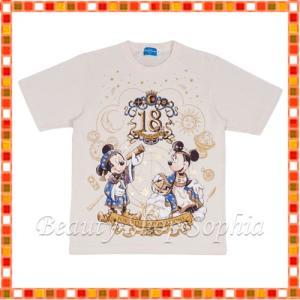 ミッキー&フレンズ Tシャツ(140cm) 18周年 アニバーサリー フォートレス・エクスプロレーション ディズニー グッズ お土産(東京ディズニーシー限定)|duffy-0080