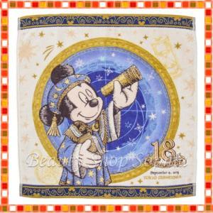 ミッキーマウス ウォッシュタオル 18周年 アニバーサリー フォートレス・エクスプロレーション ディズニー グッズ お土産(東京ディズニーシー限定)|duffy-0080