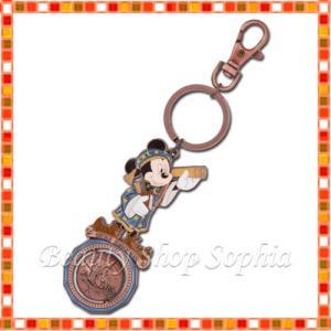 ミッキーマウス キーチェーン 18周年 アニバーサリー フォートレス・エクスプロレーション ディズニー グッズ お土産(東京ディズニーシー限定)|duffy-0080