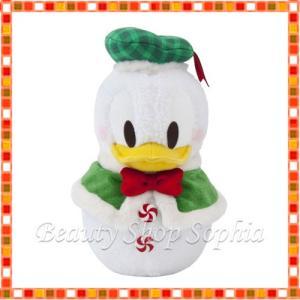 ドナルドダック(スノー) ぬいぐるみ スノースノー ディズニークリスマス 2019 雪だるま ディズニー グッズ お土産(東京ディズニーリゾート限定)|duffy-0080