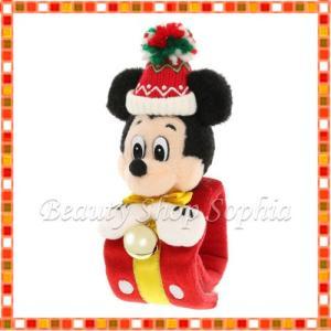 ミッキーマウス ぬいぐるみバンド クリスマス ストーリーズ 2019 クリスマス ディズニー グッズ お土産(東京ディズニーランド限定)|duffy-0080