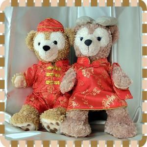 ダッフィー・シェリーメイ/コスチューム/中国風民族衣装/Duffy/ShellieMay/服