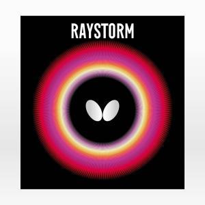 バタフライ(Butterfly) 卓球 ラバー レイストーム ハイテンション表ソフト 00280|dugoutshop