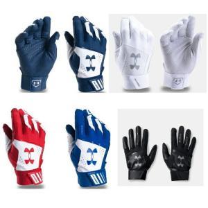 ★海外モデル★アンダーアーマーMen's UA Yard Batting Glovesバッティンググローブ(両手用)1299538|dugoutshop