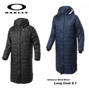 オークリー ベンチコート 撥水 保温 防風 Oakley Enhance Wind Warm Long Coat 8.7 412631JP|dugoutshop