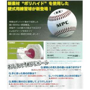 硬式 ボール MPC 練習球 1ダース(ハイゴールド ) BB-MPC|dugoutshop