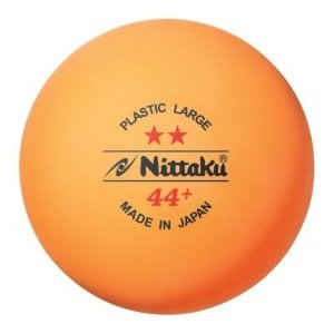 ニッタク(Nittaku) 卓球 ボール ラージ44ミリ 練習球 ラージボール 2スタープラ44 LARGE BALL 44 PLS 2-STAR  (2ダース) NB-1032|dugoutshop
