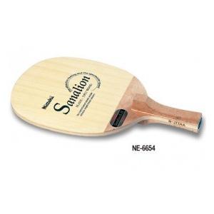 ニッタク(Nittaku) 卓球 ラケット ペンホルダー オールラウンド用 サナリオン R-H SANALION R-H NE-6654|dugoutshop