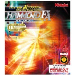 ニッタク(Nittaku) 卓球 ラバー 表ソフト IE(エネルギー集約型) ハモンドFA HAMMOND FA NR-8530|dugoutshop