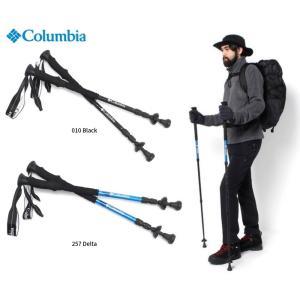 コロンビア ソルトリックマウンテンポールL  登山 トレッキングステッキ ストック スノーハイキング 雪山 歩行補助 杖 メンズ レディース Columbia PU1646|dugoutshop