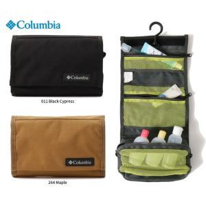 コロンビア トラベルポーチ スターレンジフォールディングポーチ 撥水 旅行 出張 キャンプ シャワールームにも Columbia PU2198|dugoutshop