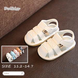 ベビー サンダル 脱ぎ履きがしやすい 子供 靴 ベビー 夏用 サンダル
