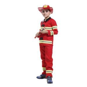ハロウィン 子ども用 コスプレ衣装 消防士 Halloween 宇宙 ハロウィン用品 男の子用 ファ...