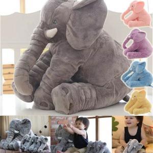ぞう ぬいぐるみ クッション 赤ちゃん ベビー 出産祝い 象のぬいぐるみ リアルぬいぐるみ 抱き枕 子供 おもちゃ 動物 柔らか